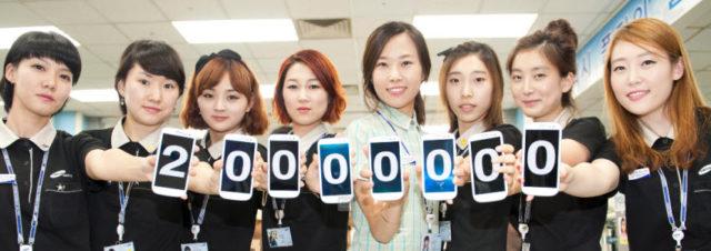 Samsung Galaxy S3 - 20 millions d'unités vendues en 100 jours!
