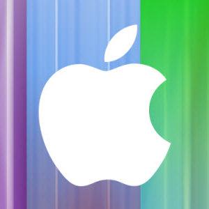 #iPhone5 - Maintenant, on voit même des messages subliminaux dans le décors de la Keynote