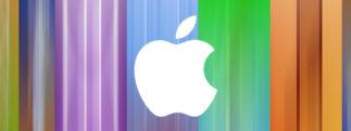 #iPhone5 – Maintenant, on voit même des messages subliminaux dans le décors de la Keynote