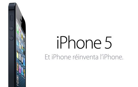 #iPhone 5 : spécificités générales
