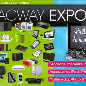 #MacWay Expo 2012, une avalanche de promos du 10 au 23 septembre