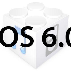 La mise à jour de l'Apple iOS 6.0 est disponible