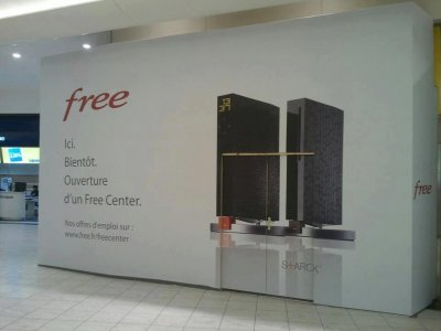 Ouverture d'un Free Center à Carré Sénart pour bientôt