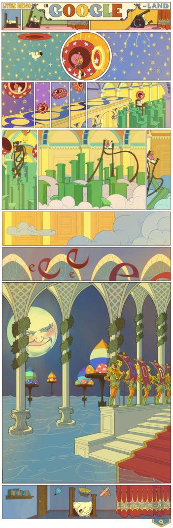Google fête le 107ème anniversaire de 'Little Nemo in Slumberland' de Winsor McCay