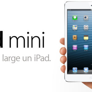 #Keynote #Apple : l'iPad Mini est officiel!