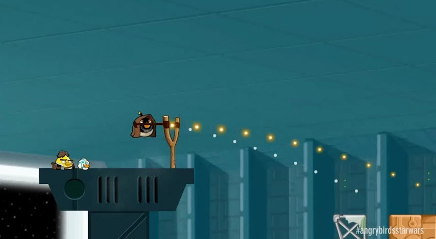 Angry Birds Star Wars : une vidéo du gameplay de plus!