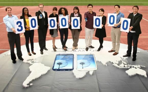 Samsung Galaxy S3 : 30 millions d'unités vendues!