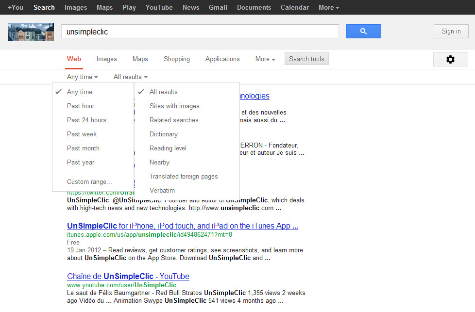 Google : bientôt une nouvelle version pour la page de résultats du moteur de recherche