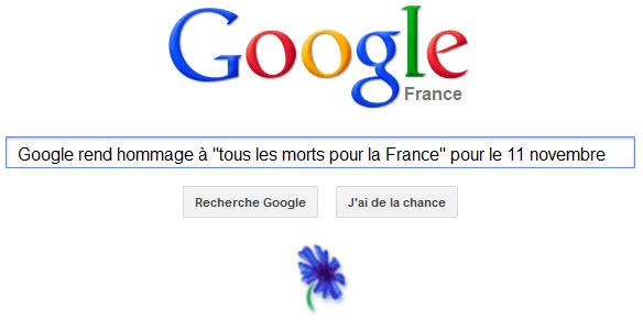 Google rend hommage à