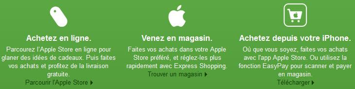 Black Friday Apple - Les promotions, c'est pour vendredi 23 novembre 2012!