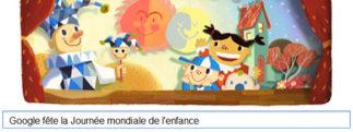 Google fête la Journée mondiale de l'enfance [Doodle]