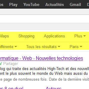 Google.fr - La nouvelle version de la page des résultats est disponible!