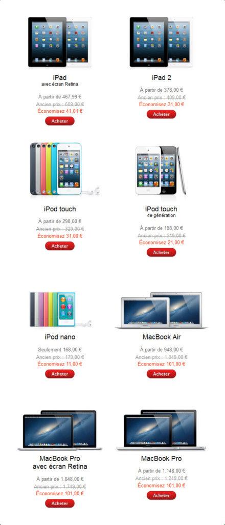 Black Friday Apple - Les promotions, c'est pour vendredi 23 novembre 2012! [MàJ]