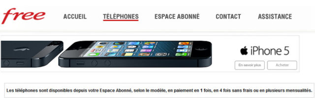 #iPhone5 : enfin de retour chez #FreeMobile