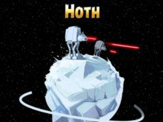 Angry Birds Star Wars : de nouveaux niveaux avec la planète Hoth