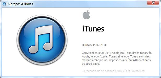 iTunes 11 est disponible!