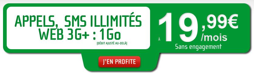 #NRJMobile lance un forfait à 19,99€ tout illimité... enfin presque