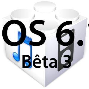 L'iOS 6.1 bêta 3 est disponible pour les développeurs!