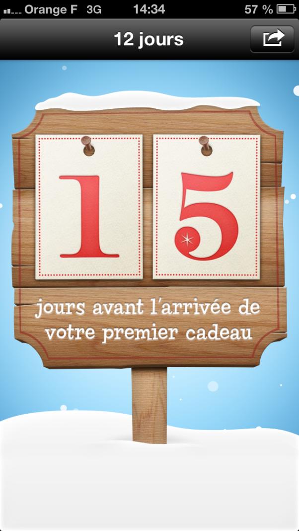 Les 12 jours cadeaux iTunes reviennent à compter du 26 décembre