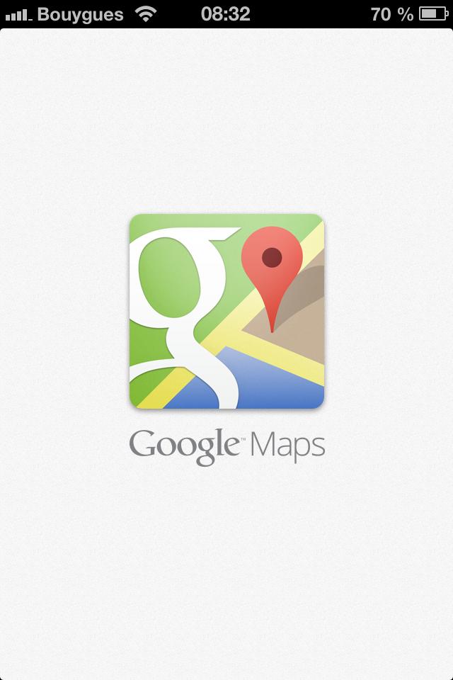 Google Maps signe sont retour sur iOS!