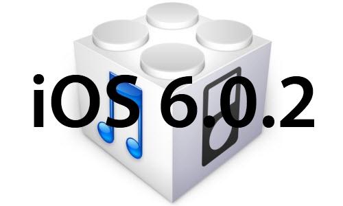 L'iOS 6.0.2 est disponible pour iPhone 5 et iPad Mini