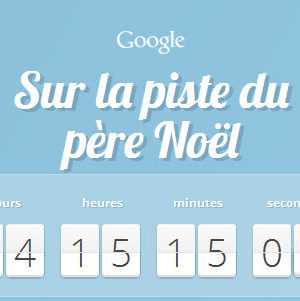 Suivez le Père Noël grâce à Google!