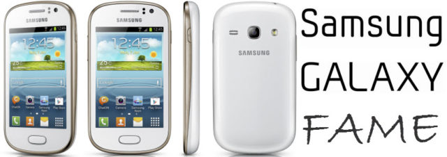 Samsung officialise le Galaxy Fame