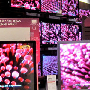 Consommation : plus de 6 écrans en moyenne dans les foyers français!