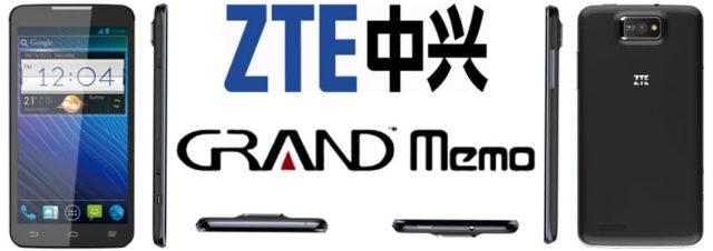#MWC2013 - ZTE présente le Grand Nemo, un concurrent direct du Samsung Galaxy Note