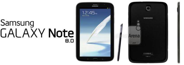 Le Samsung Galaxy Note 8.0 bientôt en noir?