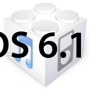 L'iOS 6.1.3 est disponible mais signe la fin du jailbreak Evasi0n!