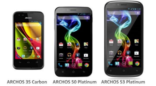 Smartphone, Archos s'y met enfin
