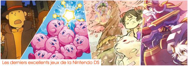 Derniers jeux sur Nintendo DS
