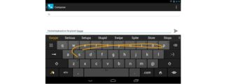 Swype, clavier android signé Nuance