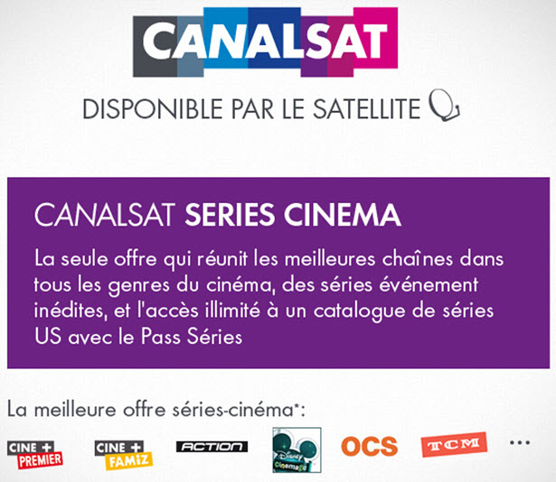 canal canalsat casse les prix de ses offres sur vente unsimpleclic. Black Bedroom Furniture Sets. Home Design Ideas
