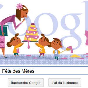 Google célèbre la Fête des Mères [Doodle]