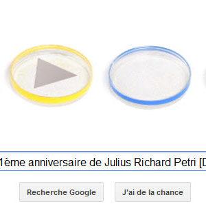 Google fête le 161ème anniversaire de Julius Richard Petri [Doodle]