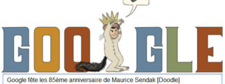 Google fête le 85ème anniversaire de Maurice Sendak [Doodle]
