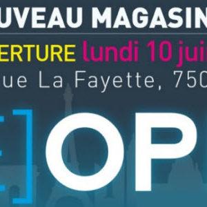 MacWay déménage et ouvre son nouveau magasin sur Paris aujourd'hui!