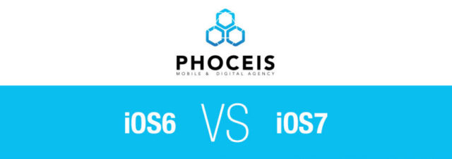 Comparaison graphique iOS 6 vs iOS 7 [infographie]