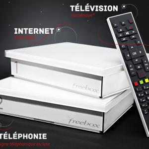 Forfait Freebox V5 Design Crystal + option TV à 1,99€ sur Vente-privée.com