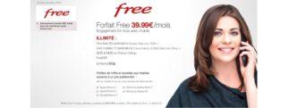 Offre free mobile subventionnée sur vente-privee.com