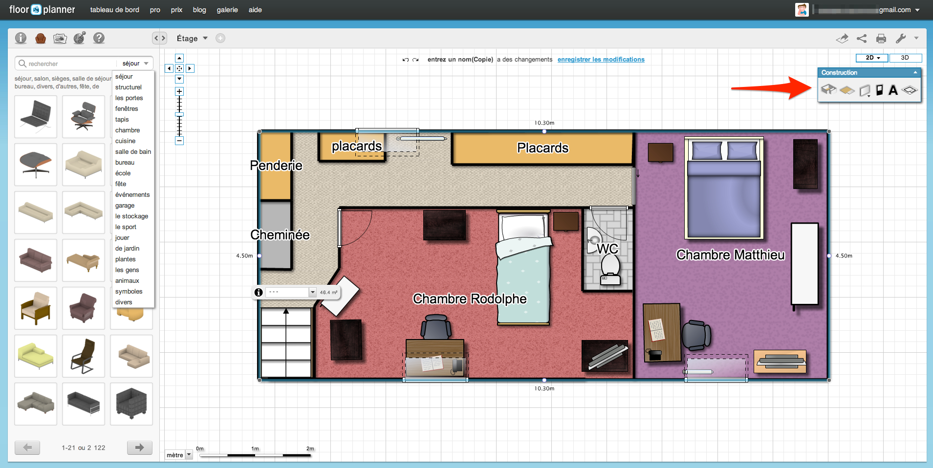 130904_floorplanner_ _construction - Logiciel Amenagement Interieur Gratuit