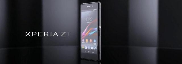 #IFA2013 - Sony présente le Xperia Z1