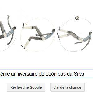 Google fête le 100ème anniversaire de Leônidas da Silva [Doodle]