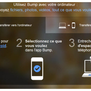 Google rachète l'application Bump pour plus de 30 millions de dollars!