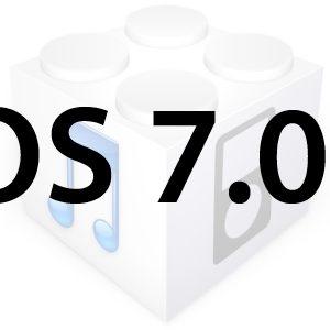 L'iOS 7.0.1 est disponible pour les iPhone 5C et iPhone 5S