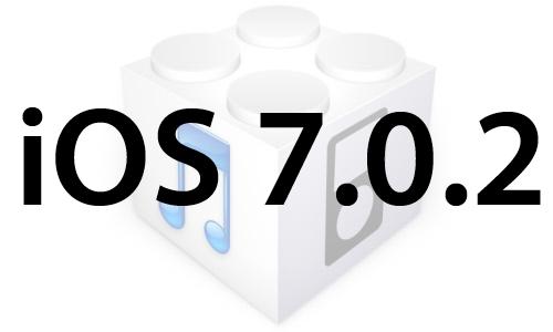 L'iOS 7.0.2 est disponible au téléchargement