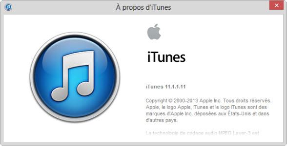iTunes 11.1.1 est disponible au téléchargement