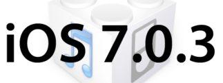 L'iOS 7.0.3 est disponible au téléchargement [liens directs]